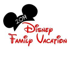 Disney Family Vacation Disney Custom Personalized  Iron on t-shirt Transfer Decal(iron on transfer, not digital download)