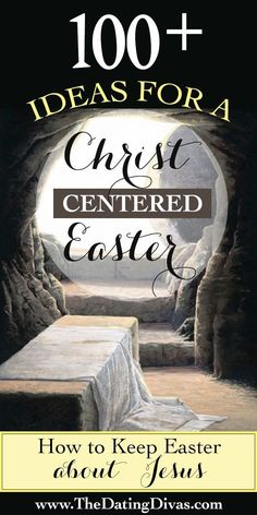 TONS of fun ideas to help keep Easter about Jesus. - TONS of fun ideas to help keep Easter about Jesus. It's even divided into categories - Easter Gift, Easter Crafts, Easter Bunny, Easter Ideas, Easter Decor, Easter Table, Easter Party, Easter Food, Easter Dinner