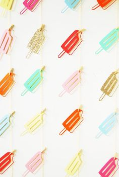 Popsicle party ★ iPhone wallpaper
