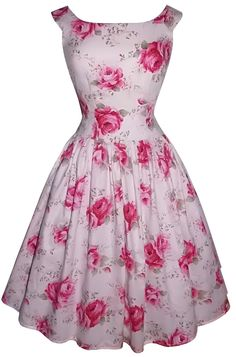 Full gathered 'Abigail' drop waist in large roses ~ can I have it, @drmikewt? :)