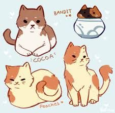 "electricgale: "" doodlin the faves "" Cute Animal Drawings, Animal Sketches, Kawaii Drawings, Cool Drawings, Art Sketches, Neko Atsume, Dibujos Cute, Cute Art Styles, Art Reference Poses"