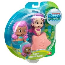 """Bubble Guppies Bath Squirters - Molly, Oona and Starfish - Fisher-Price - Toys""""R""""Us"""