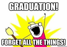 YES! Usually it's semester ends....forget all the things.