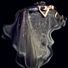 The Manila-born designer, Ezra, had always admired the couture dresses of the and found in American black and white movies. Dark Fashion, World Of Fashion, High Fashion, Fashion Beauty, Fashion Fashion, Fashion Ideas, Passion Photography, Beauty Photography, Akita