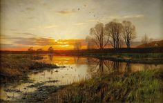 Peder Mork Mønsted | Plein air / Genre painter | Part. 5 | Tutt'Art@ | Pittura • Scultura • Poesia • Musica