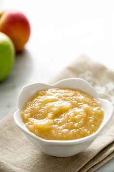 Delicious homemade applesauce recipe! There is nothing better than homemade applesauce with hand-picked apples, and it is so easy to do!