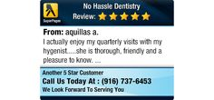 I actually enjoy my quarterly visits with my hygenist.....she is thorough, friendly and a...