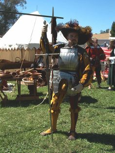 Armored landsknecht