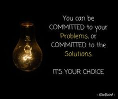 Committed To Problems or Committed to Solutions