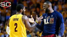 Kyrie Irving's return sparks rout of Hawks; Cavs earn 2nd-ever Finals spot