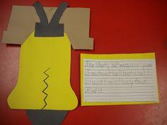 Adventures of First Grade:Liberty Bell & Bald Eagle Craftivity
