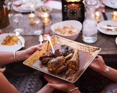The Mix with Yuki Moroccan inspired meal lamb tagine entree