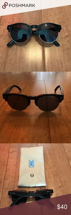 TOMS Sunglasses In mint condition! Like new. TOMS Sunglasses with case TOMS Accessories Sunglasses