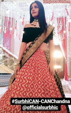 Surbhi in lehenga Lehenga Wedding, Wedding Dress, Indian Wedding Outfits, Bridal Outfits, Indian Outfits, Bridal Dresses, Choli Designs, Lehenga Designs, Blouse Designs