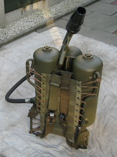 Flamethrower Gun M2-A1