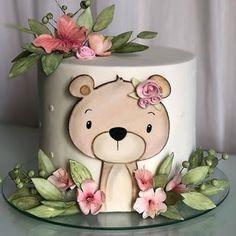 Baby Cakes, Baby Birthday Cakes, Baby Shower Cakes, Sweets Cake, Cupcake Cakes, Watercolor Cake Tutorial, Mini Tortillas, Cake Decorating Amazing, Hawaii Cake