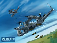 SXB-355 Trident by TheXHS ©2012-2015 TheXHS
