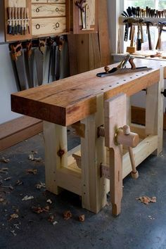 Work bench, beautiful thing!: