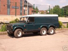 Safir Land Rover 6x6 - Pic by Nick.