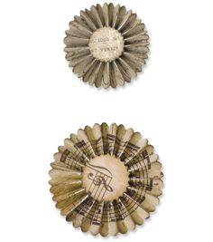 Sizzix Sizzlits Decorative Strip Die Mini Paper Rosettes