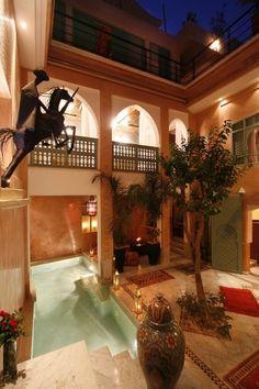 Ref 730- Morocco Real Estate - Sales riad renovated in marrakech