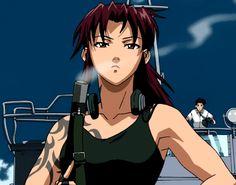 csgostash Revy Black Lagoon, Black Lagoon Anime, Blue Lagoon, Fox Spirit, Manga Pages, Female Anime, Anime Comics, Anime Couples, Aesthetic Anime