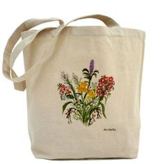 'Spring Bouquet' painting  by Ave Hurley  of www.ArtRave.com/Ave   Tote Bag Sale : $17.99