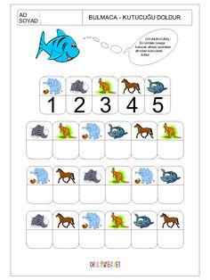okul-öncesi-bulmaca-kutucuğu-doldur-oyunu-7.gif (1200×1600) Preschool Learning Activities, Preschool Math, Sensory Activities, Teacher Worksheets, Worksheets For Kids, File Folder Activities, Working Memory, Coding For Kids, Kids Education