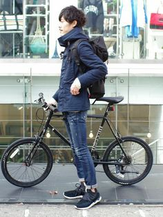 Hipster Fashion, Boy Fashion, Mens Fashion, Hipster Style, Mini Velo, Style Masculin, Urban Bike, Cycle Chic, Bike Style