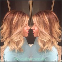 cool Balayage beautiful!! Blonde. Hair painting....