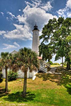 St. Marks Lighthouse, Florida by Kay Gaensler