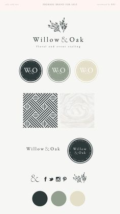 Wedding planner logo ideas color palettes Ideas Simple brand and logo design ideas Business Branding, Logo Branding, Corporate Design, Brand Identity Design, Branding Design, Design Logos, Branding Ideas, Brochure Design, Marca Personal