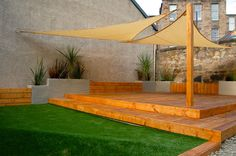 Artificial lawn has become increasing more popular as a low maintenance option to a traditional lawn.