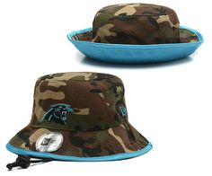 Carolina Panthers New Era Bucket Cover Hat ID160705 Panther Nation 0ef6c310d090