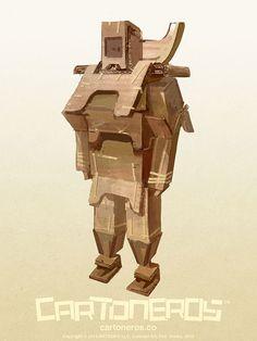 Original Concept from the game CARTONEROS®. Visit www.cartoneros.co for more information.