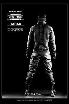 2dcea1aa TARAN by CRYPTOR - Black Mens Pants/ Cyberpunk Mens Pants/ Dark Fashion  Style Mens Pants/ Dark Jeans