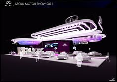 seoul motor show - nissan booth design