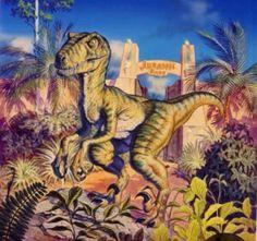 Jurassic Park Concept Art Jurassic Park Raptor, Jurassic Park Series, Jurassic Park World, Michael Crichton, Raptors, Concept Art, Dinosaurs, Rey, Animals