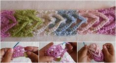 "How To Crochet ""Fantasy"" Stitch"