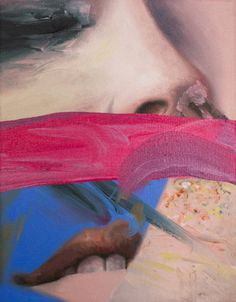 """Saatchi Art Artist Andrea Castro; Painting, """"Like when you remember a joke"""" #art"""