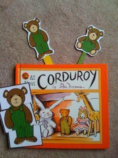 Preschool Printables: Corduroy