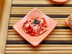 Agnolotti pomodoro e basilico  Mmmmh Miniatura di PiccoliSpazi