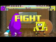 Annoying Orange And SpongeBob SquarePants VS Grimace & Jenny The Robot In A MUGEN Match / Battle This video showcases Gameplay of Jenny Wakeman The Robot From The My Life As A Teenage Robot Series And Grimace From The Wacky Adventures of Ronald McDonald Series VS SpongeBob SquarePants And The Annoying Orange In A MUGEN Match / Battle / Fight