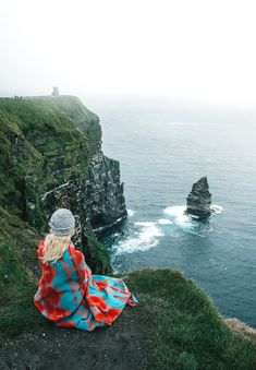 Cliffs of Moher in Ireland -- best spots
