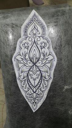 Tatuaje a juego con mandala # mandala tattoo- # mandala # . - Tatuaje a juego Mandala tattoo– # mandala - Pisces Tattoos, Henna Tattoos, Wrist Tattoos, Foot Tattoos, Flower Tattoos, Body Art Tattoos, Tattos, Ankle Tattoo, Arm Tattoo
