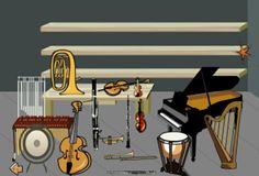 Actividades para Educación Infantil: Sonidos de instrumentos musicales EDUCARM Music School, Spanish Teacher, Music Classroom, Classroom Ideas, Music For Kids, Teaching Music, Music Videos, Musicals, Songs