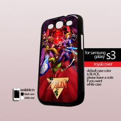 Zelda Stainet Glass- Print On Hard Case For Samsung Galaxy S3 i9300