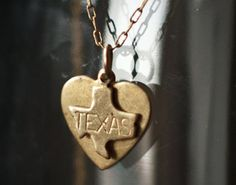 Deep in the heart of TEXAS. Necklace,
