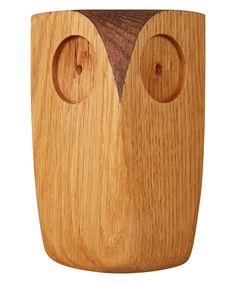 Large Natural Oak Owl   Home Decor   Liberty.co.uk Wood Projects That Sell, Small Wood Projects, Woodworking Projects That Sell, Diy Arts And Crafts, Wood Crafts, Wood Phone Holder, Owl Home Decor, David Wood, Wood Owls