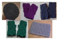 PDF Pattern (crochet) Textured Lacy Hat, Cowl and Fingerless Mitts -  INSTANT DOWNLOAD following cleared payment. £3.10, via Etsy.